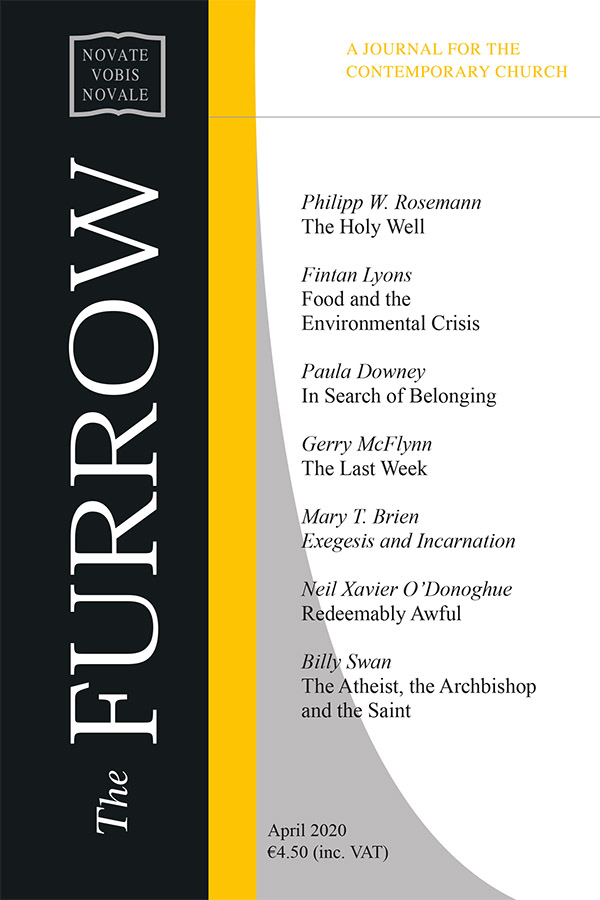 The Furrow April 2020 cover image