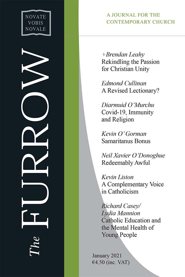 The Furrow January cover image
